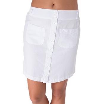 Vêtements Femme Jupes La Cotonniere JUPE COURTE LOLA Blanc