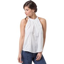 Vêtements Femme Tops / Blouses La Cotonniere TOP NAOMIE Blanc