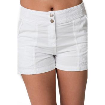 Vêtements Femme Shorts / Bermudas La Cotonniere SHORT PANDORA Blanc