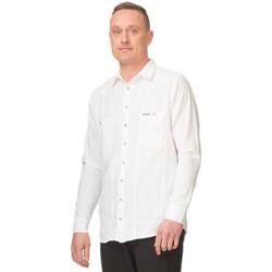 Vêtements Homme Chemises manches longues La Cotonniere CHEMISE MARBELLA Blanc