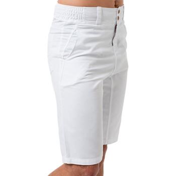 Vêtements Homme Pantacourts La Cotonniere BERMUDA RICARDO Blanc