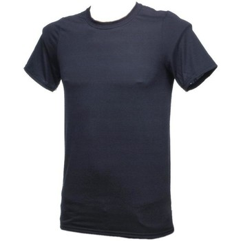 Vêtements Homme T-shirts manches courtes First Price Performance noir mc Noir