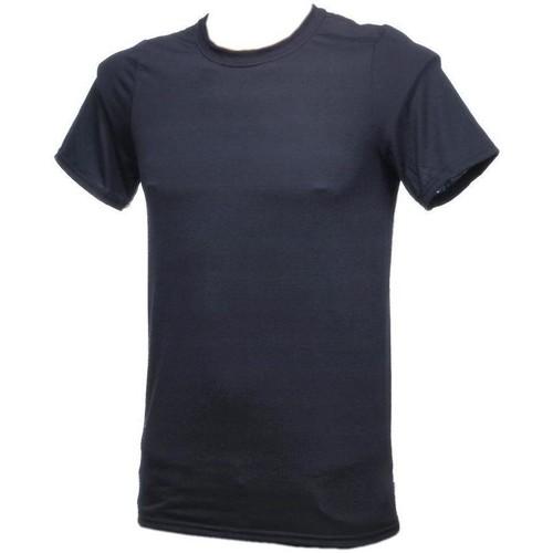 Vêtements Homme T-shirts manches courtes Toptex Performance noir mc Noir