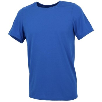 Vêtements Homme T-shirts manches courtes First Price Performanceroyal mc Bleu moyen