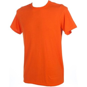 Vêtements Homme T-shirts manches courtes First Price Performance orangemc Orange
