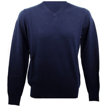 Vêtements Homme Pulls Real Cashmere Pull  COLLO V (Navy) - IUB109842-COLLOV-TOPPE Bleu