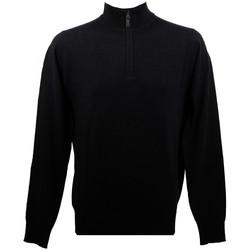 Vêtements Homme Pulls Real Cashmere Pull  (Noir) - IUB109903-LUPETTO-ZIP Noir