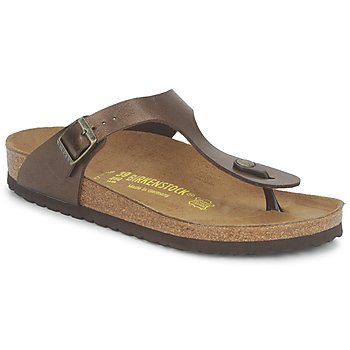 Tongs Birkenstock GIZEH Marron 350x350