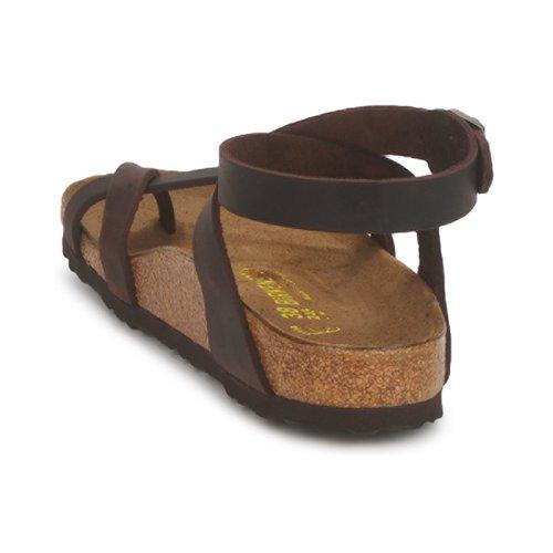 Nu Yara Femme Marron Et Premium Birkenstock Sandales pieds zUSMqVp