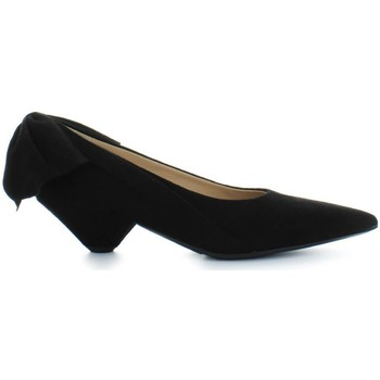 Chaussures Femme Escarpins Ettore Lami Escarpins en Daim Noir Black