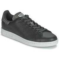 Chaussures Femme Baskets basses adidas Originals STAN SMITH W Noir
