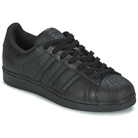 Chaussures Homme Baskets basses adidas Originals SUPERSTAR FOUNDATIO Noir