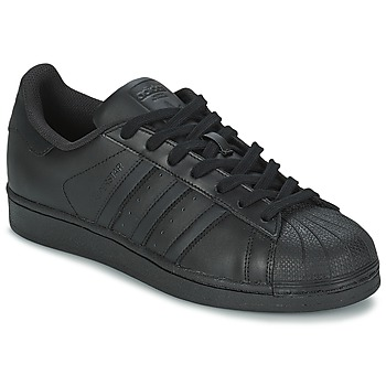 Chaussures Baskets basses adidas Originals SUPERSTAR FOUNDATIO Noir