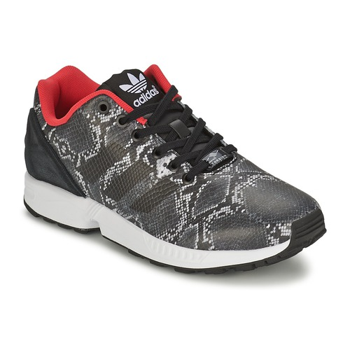 Chaussures Femme Baskets basses adidas Originals ZX FLUX W Gris