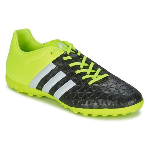 Chaussures Homme Football adidas Performance ACE 15.4 TF Noir / Jaune