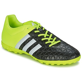 Chaussures de sport adidas Performance ACE 15.4 TF Noir / Jaune 350x350