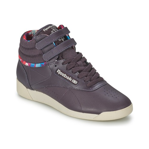reebok classic f s hi geo graphics violet chaussures basket montante femme 39 99. Black Bedroom Furniture Sets. Home Design Ideas