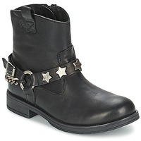 Chaussures Fille Boots Acebo's JERIE Noir