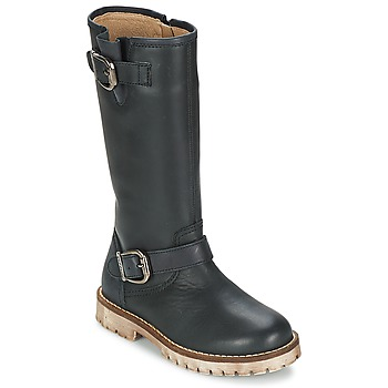 Chaussures Fille Bottes ville Garvalin GALERA Noir