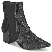 Chaussures Femme Boots RAS ANAHI Noir