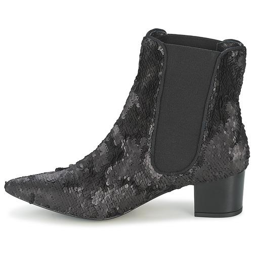 Boots Ras Anahi Ras Noir Femme Anahi uTK1J3lc5F