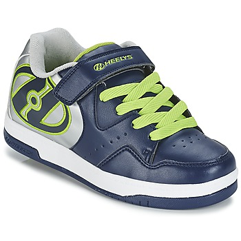 Chaussures Garçon Chaussures à roulettes Heelys HYPER Marine / Argent / Vert