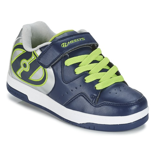 chaussures à roulettes Heelys HYPER Marine / Argent / Vert 350x350