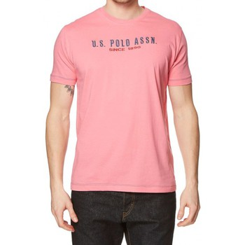 T-shirts manches courtes U.S Polo Assn. T-shirt  Institutional Rose