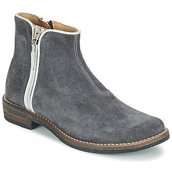 Chaussures Fille Boots Shwik TIJUANA BIDING Gris