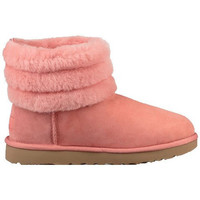 Chaussures Femme Bottes de neige UGG Botte  FLUFF MINI QUILTED (Lantana) - FLUFF-MINI-QUILTED Rose