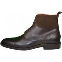 Chaussures Homme Boots Tommy Hilfiger Boots montantes  marron pour homme Marron