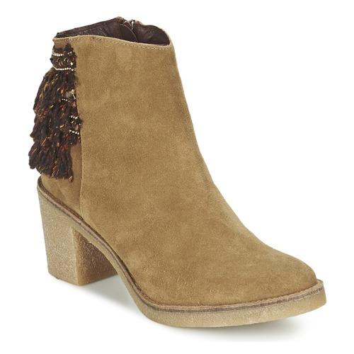 Chaussures Femme Bottines Miista BRIANNA Marron