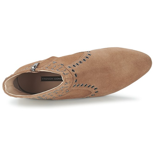 Connection Boots Chaussures Charlene French Tan Femme stQxBhrdC