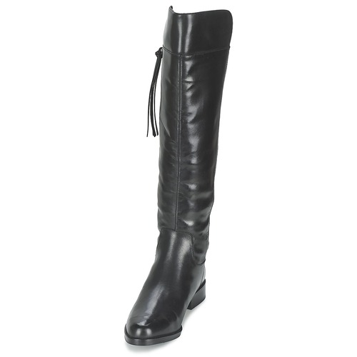 Ville French Bottes Femme Chaussures Connection Greggie Noir W9I2DYEH