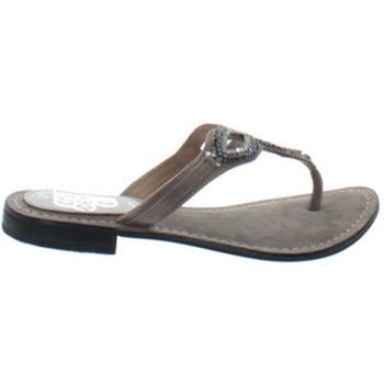 Chaussures Femme Tongs Crecendo Sandales femme ref_anpa35178-sable Sable