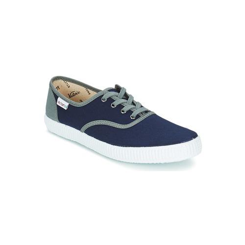 Chaussures Baskets basses Victoria INGLESA LONA BICOLOR Marine