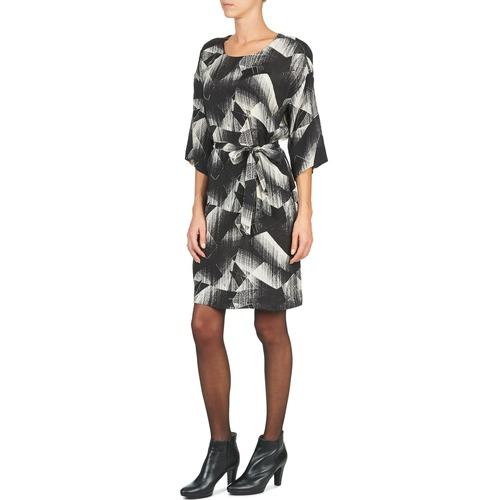 GINGER  Nümph  robes courtes  femme  noir / blanc