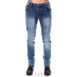 Vêtements Homme Jeans droit Deeluxe Jegging  Apollo bleu 38