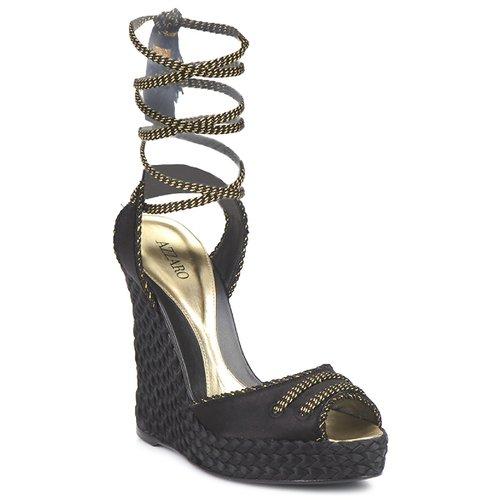 Chaussures Femme Sandales et Nu-pieds Azzaro LUGGANO Noir