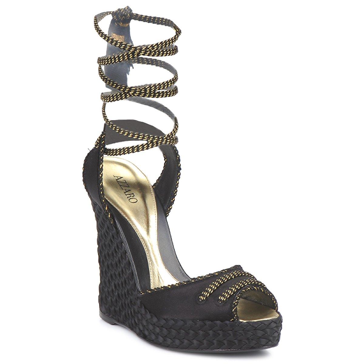 Sandale Azzaro Couture LUGGANO Noir