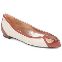 Chaussures Femme Ballerines / babies Azzaro Couture JOUR Beige/Camel