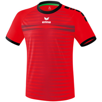 Vêtements Homme T-shirts manches courtes Erima Maillot  Ferrara 2.0 rouge/noir
