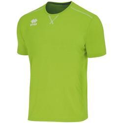 Vêtements Garçon T-shirts manches courtes Errea Maillot Junior  Everton vert fluo