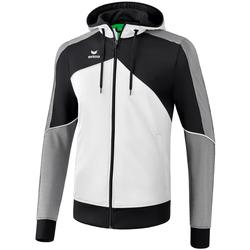Vêtements Homme Vestes de survêtement Erima Veste à capuche  Premium One 2.0 blanc/bleu/noir