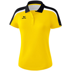 Vêtements Femme Polos manches courtes Erima Polo femme  Liga 2.0 jaune/noir/blanc