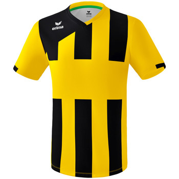 Vêtements Garçon T-shirts manches courtes Erima Maillot junior  Siena 3.0 jaune/noir