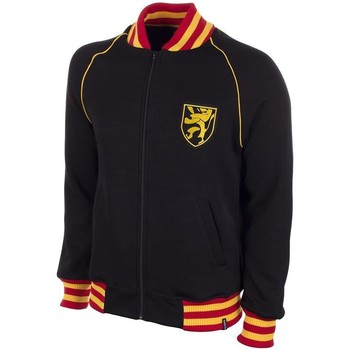 Vêtements Homme Sweats Copa Football Sweat zippé Belgique 1960's noir/jaune/rouge