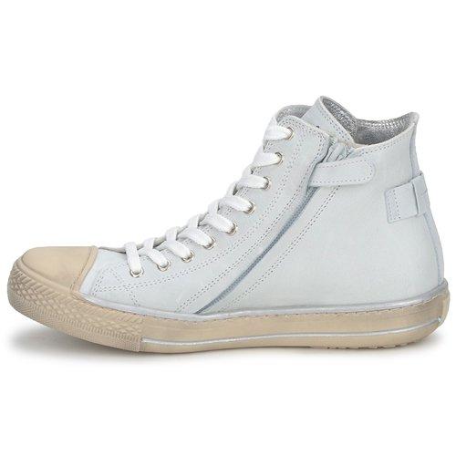Baskets Chaussures Enfant Montantes Hip Crème Lougo tQdshr