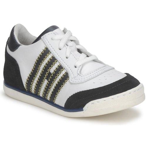 Chaussures Enfant Baskets basses Hip ARCHIK Blanc / Bleu