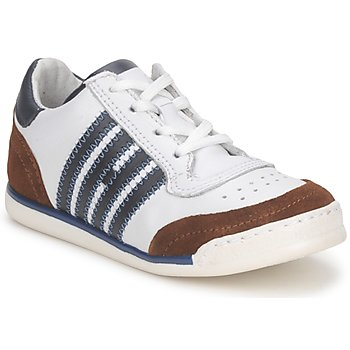 Chaussures Enfant Baskets basses Hip ARCHIK Blanc / Marron
